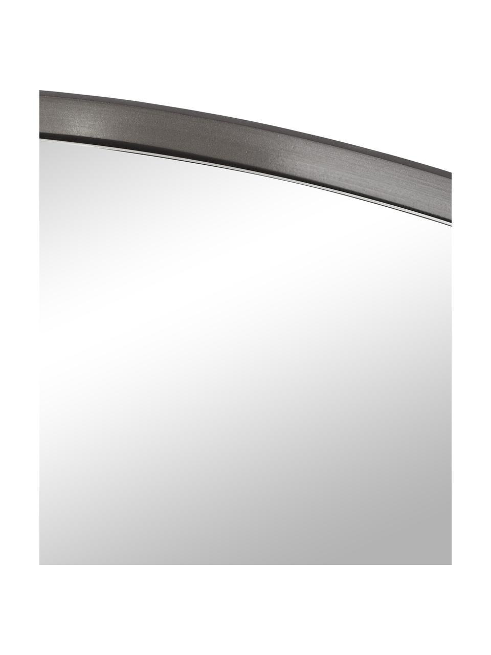 Okrągłe lustro ścienne Ada, Ciemny szary, Ø 80 cm