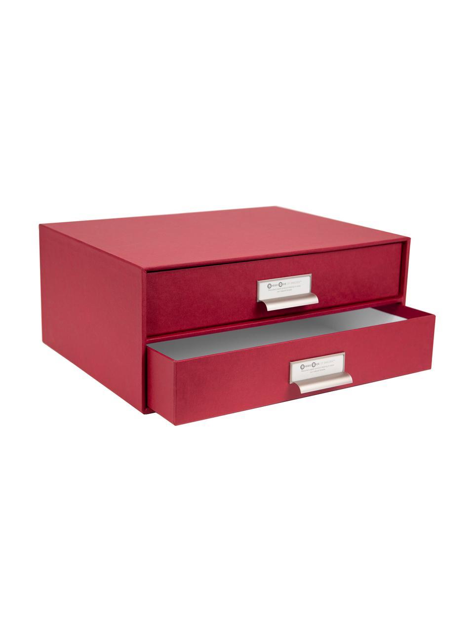 Organizer biurowy Birger, Ciemnoczerwony, S 33 x W 15 cm