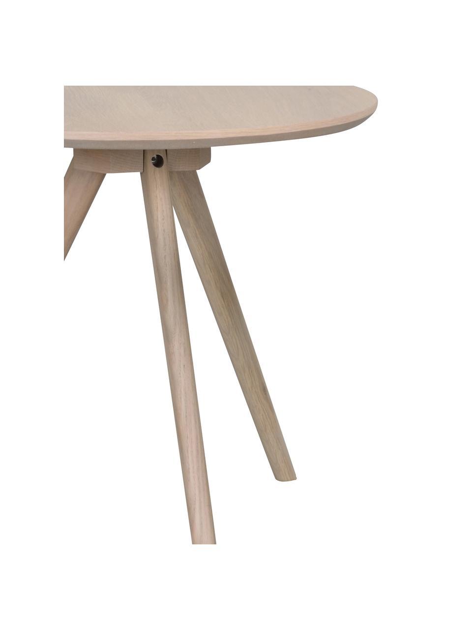 Set 2 tavolini color marrone chiaro Yumi, Gambe: legno di quercia massicci, Marrone chiaro, Set in varie misure