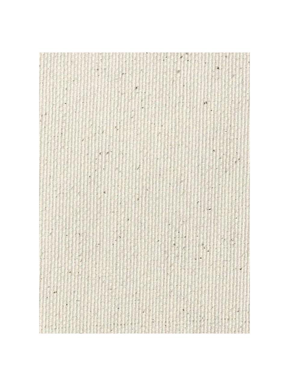 Copertura divano angolare Levante, 65% cotone, 35% poliestere, Beige, Larg. 150 x Lung. 240 cm