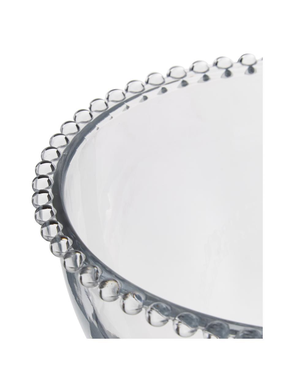 Skleněná mísa Perles, Ø 21 cm, Transparentní
