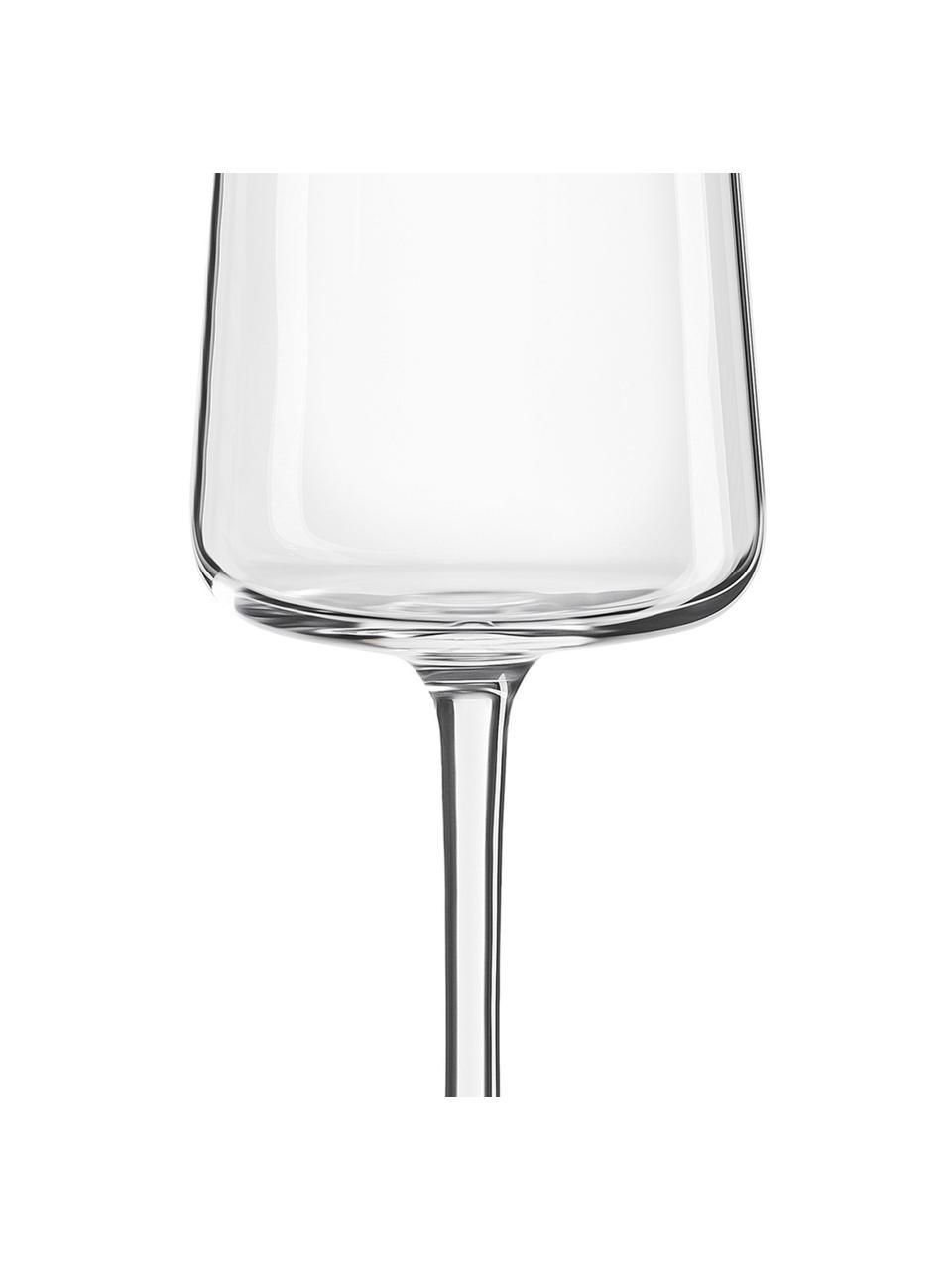 Kieliszek do szampana ze szkła kryształowego Power, 6 szt., Szkło kryształowe, Transparentny, Ø 7 x W 23 cm