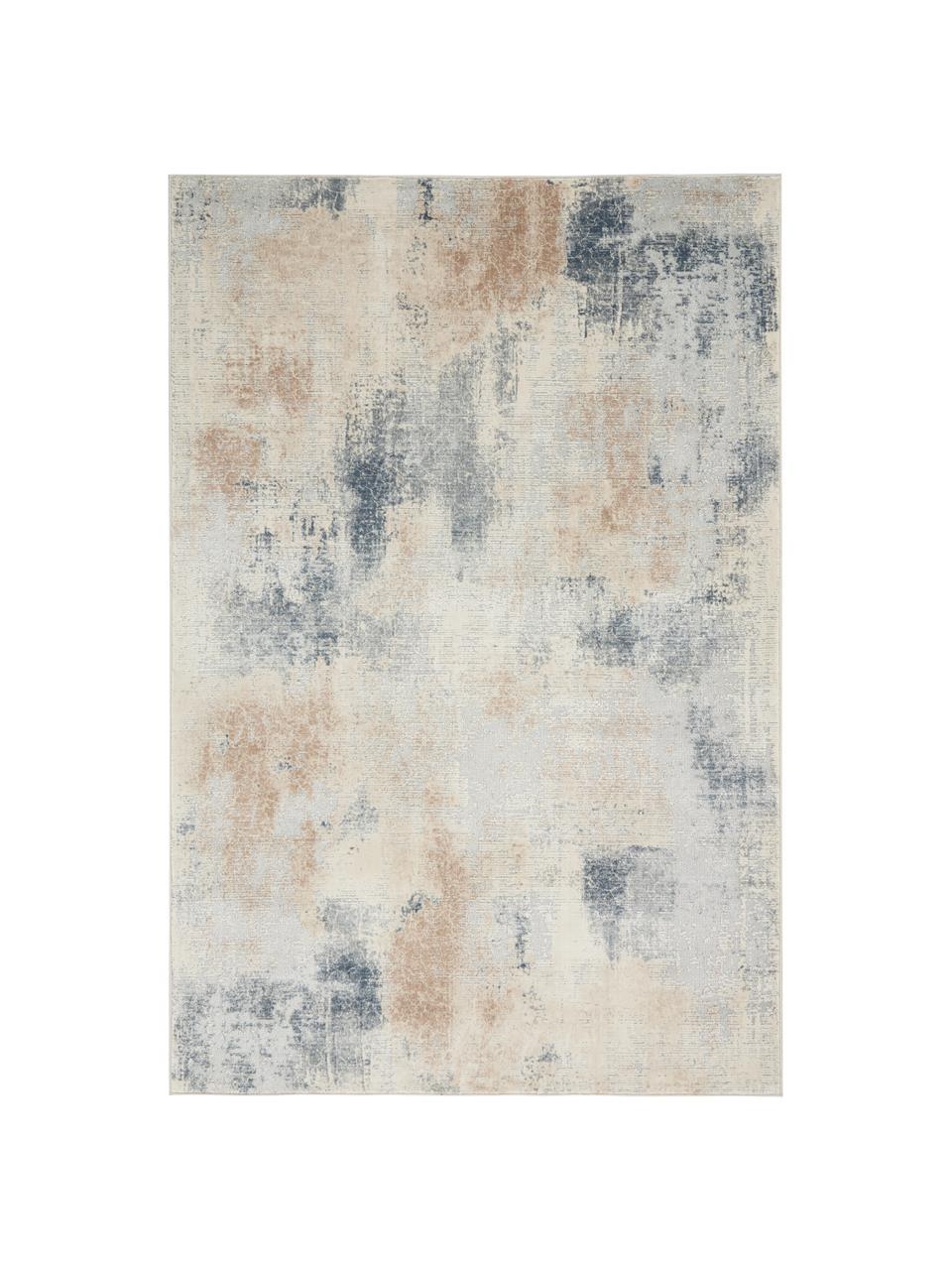 Tapis design beige gris Rustic Textures II, Tons beiges, gris