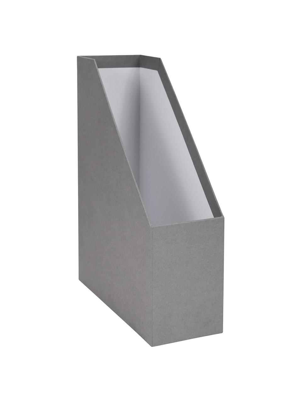 Portadocumenti Viktoria, Organizer: solido cartone laminato, Portadocumenti esterno: grigio chiaro Portadocumenti interno: bianco Scudo, Larg. 10 x Alt. 32 cm