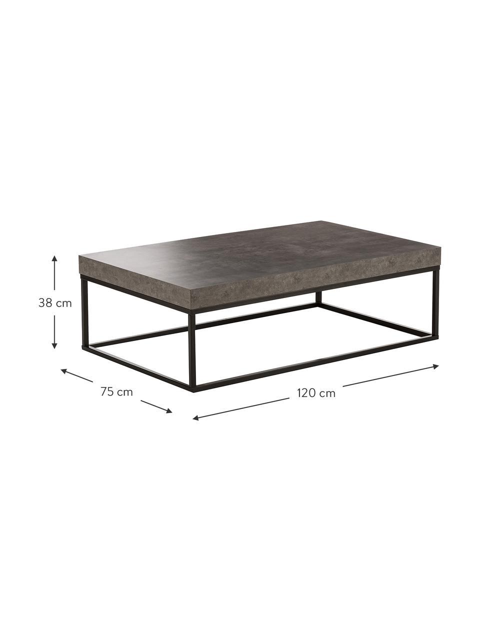 Table basse aspect béton Ellis, Aspect béton