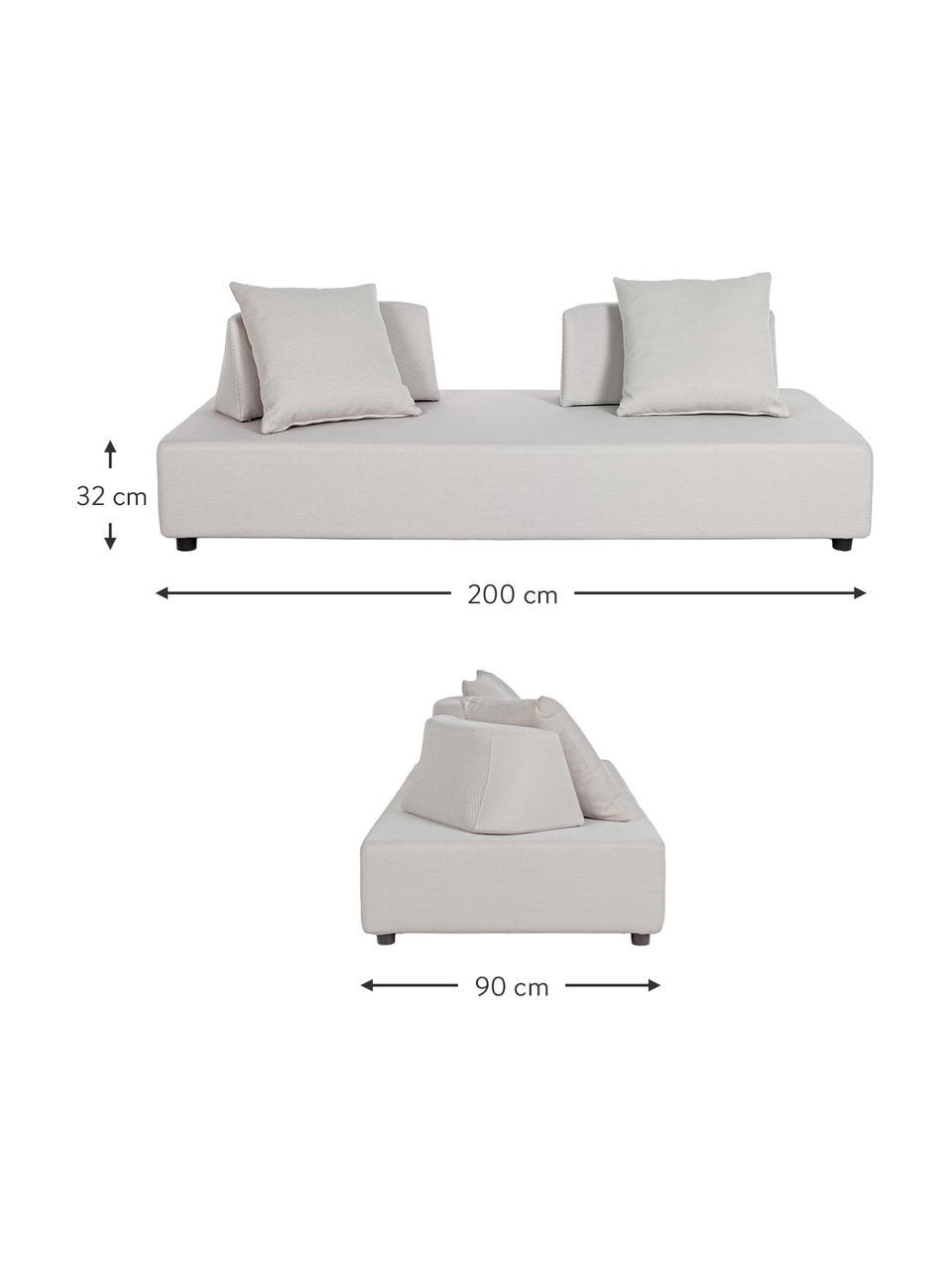 Sofa wypoczynkowa Piper, Odcienie piaskowego, S 200 x G 90 cm