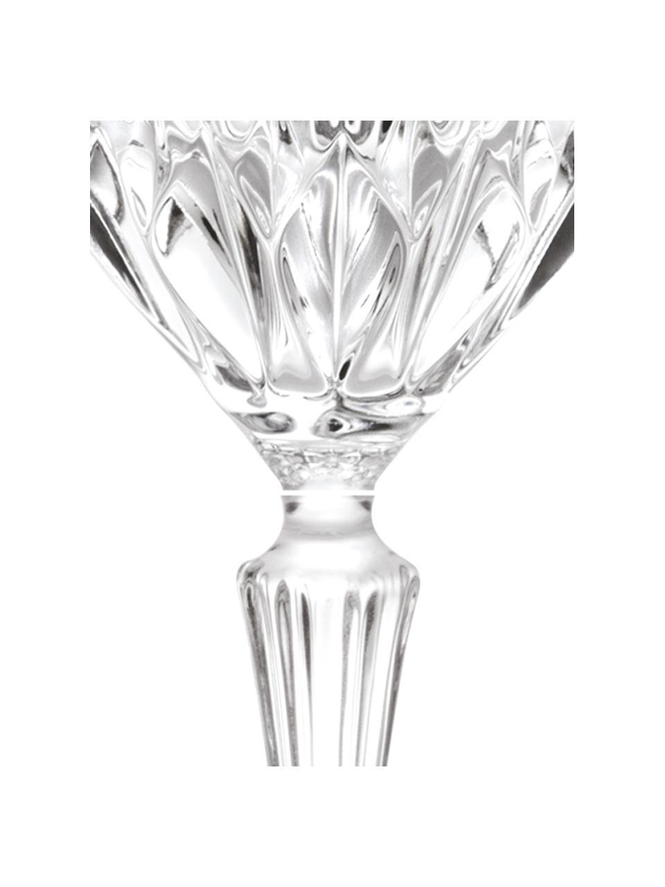 Copas de vino de cristal Adagio 6uds., Cristal, Transparente, Ø 9 x Al 21 cm