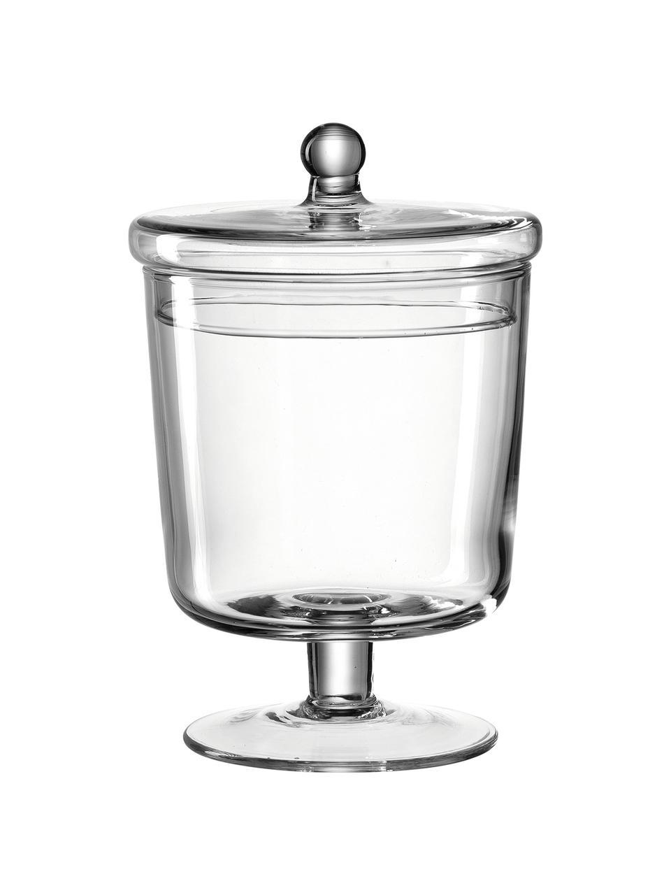 Barattolo in vetro fatto a mano Poesia, Vetro, Trasparente, Ø 13 x Alt. 19 cm