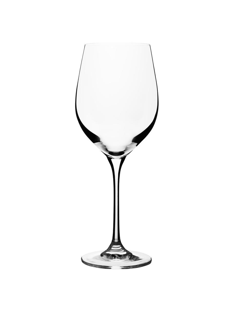 Bicchiere da vino bianco in cristallo  Harmony 6 pz, La lucentezza più preziosa - il cristallo spezza la luce in entrata in maniera particolarmente intensa. Il risultato è una brillantezza magica che rende ogni degustazione di vini un'esperienza davvero speciale, Trasparente, Ø 9 x Alt. 22 cm