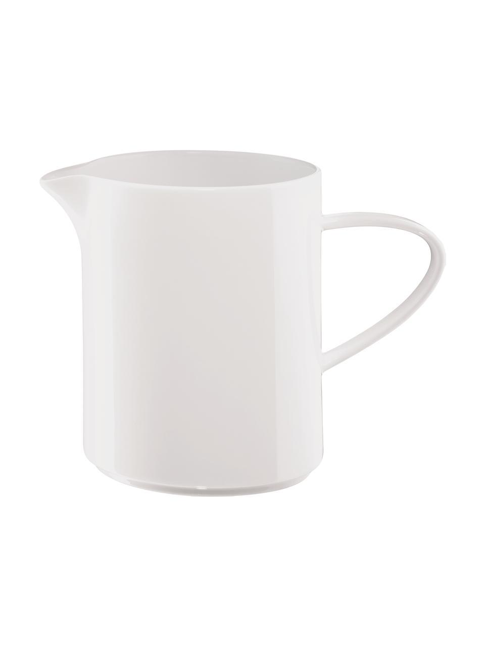 Pot à lait porcelaine à table, 400 ml, Blanc