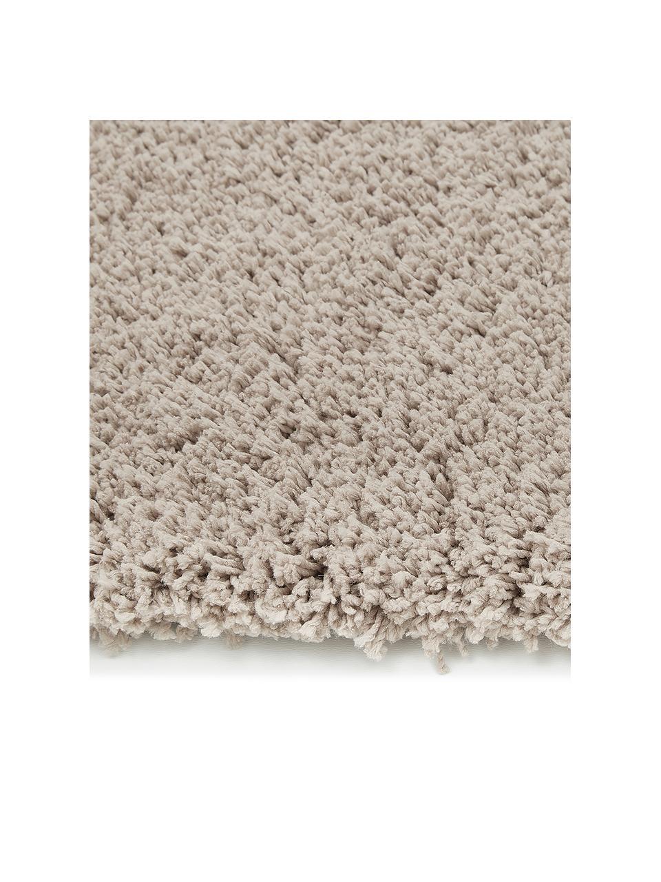 Puszysty dywan z wysokim stosem Leighton, Beżowo-brązowy, S 200 x D 300 cm (Rozmiar L)