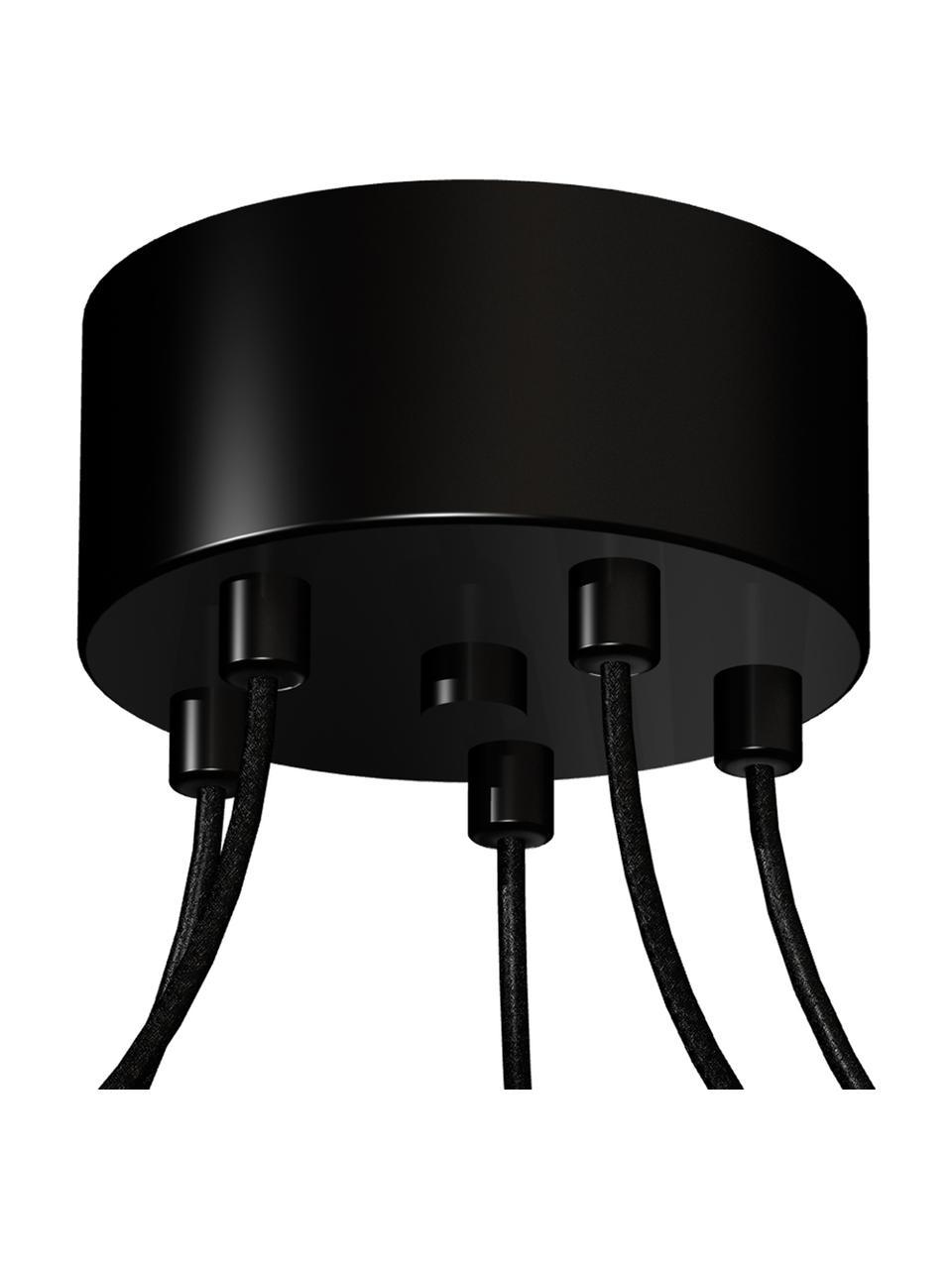 Suspension noire Spindel, Noir