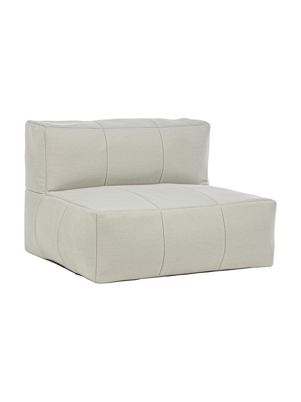 Garten-Loungesessel Sitzsack Sparrow, Bezug: 100% Polypropylen, Gestell: Aluminium, pulverbeschich, Sandfarben, 87 x 64 cm