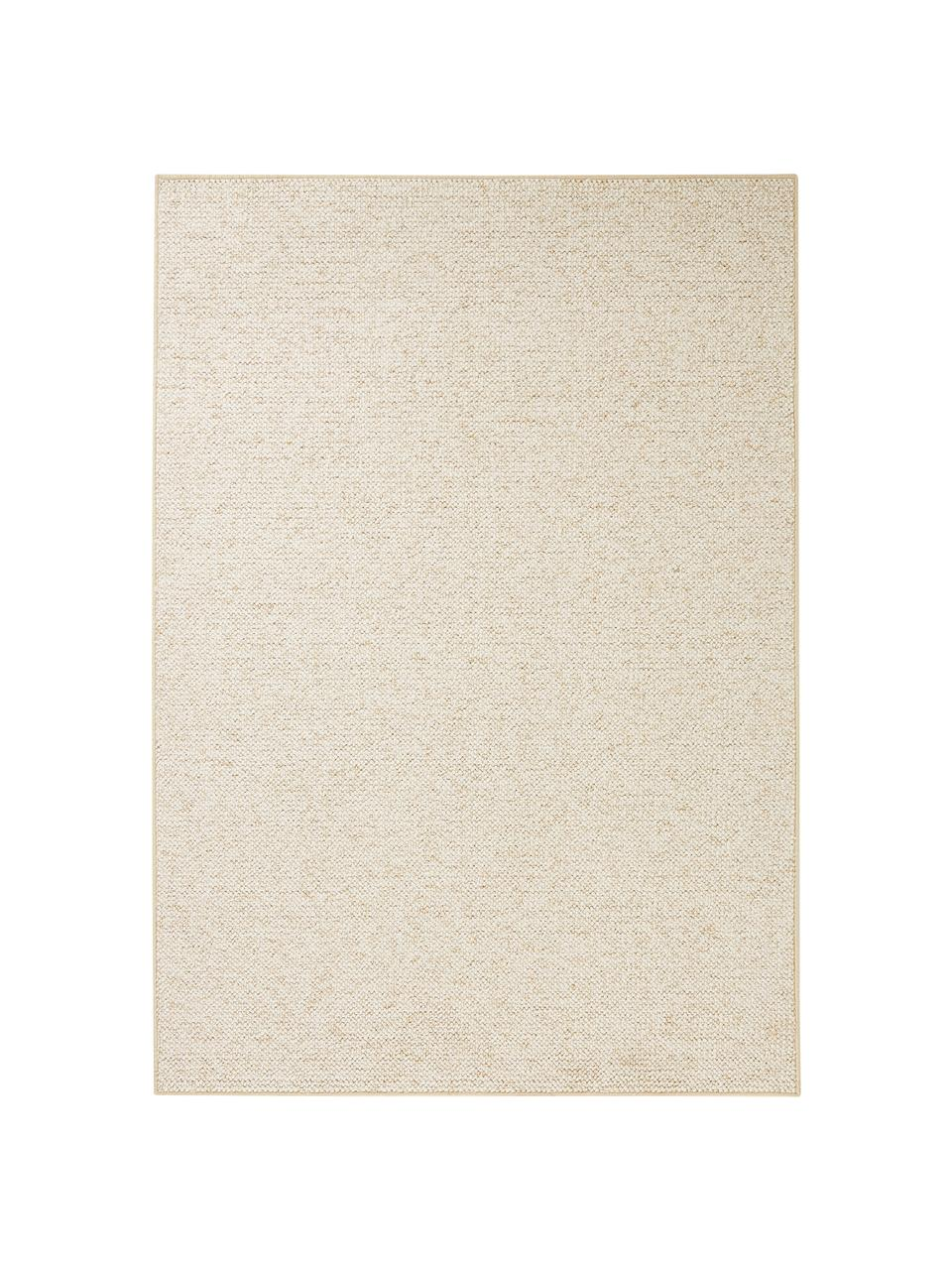 Alfombra de tejido de bolitas Lyon, Parte superior: polipropileno, Reverso: forro polar, Crema jaspeado, An 200 x L 300 cm (Tamaño L)