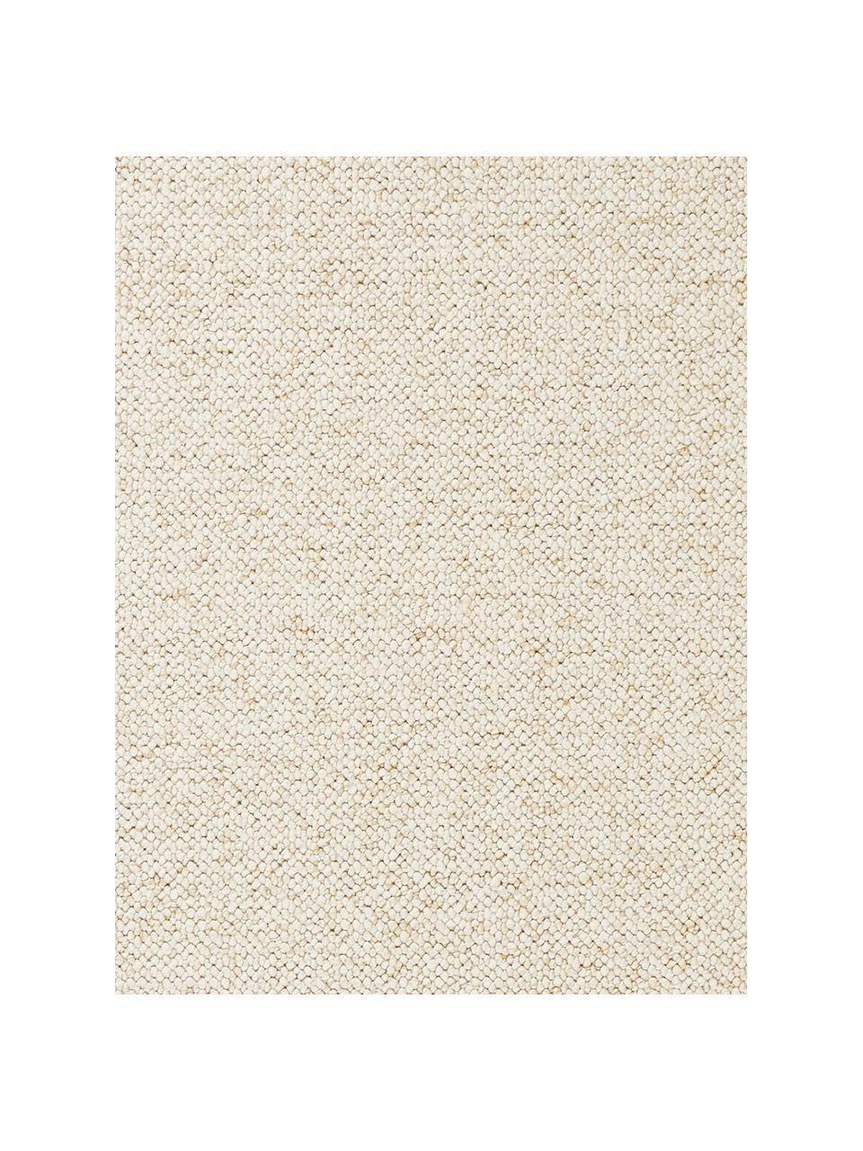 Okrągły dywan z widoczną strukturą Lyon, Kremowy, mieszany, S 200 x D 300 cm