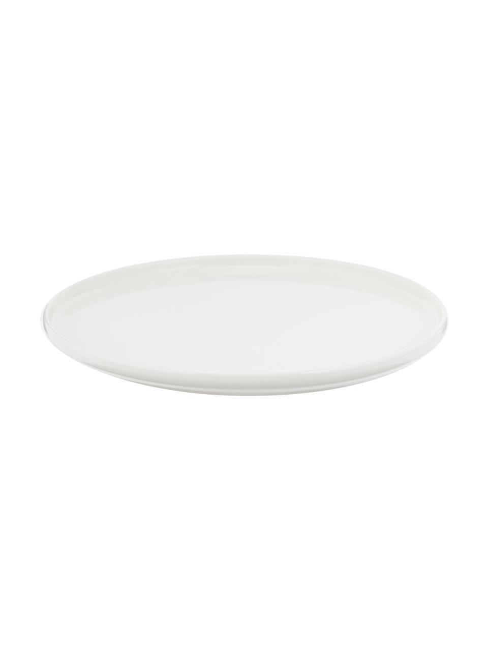 Piattino da dessert Fine Bone China  Oco 6 pz, Porcellana Fine Bone China Fine Bone China è una porcellana delicata che si distingue particolarmente per la sua lucentezza radiosa., Avorio, Ø 21 cm