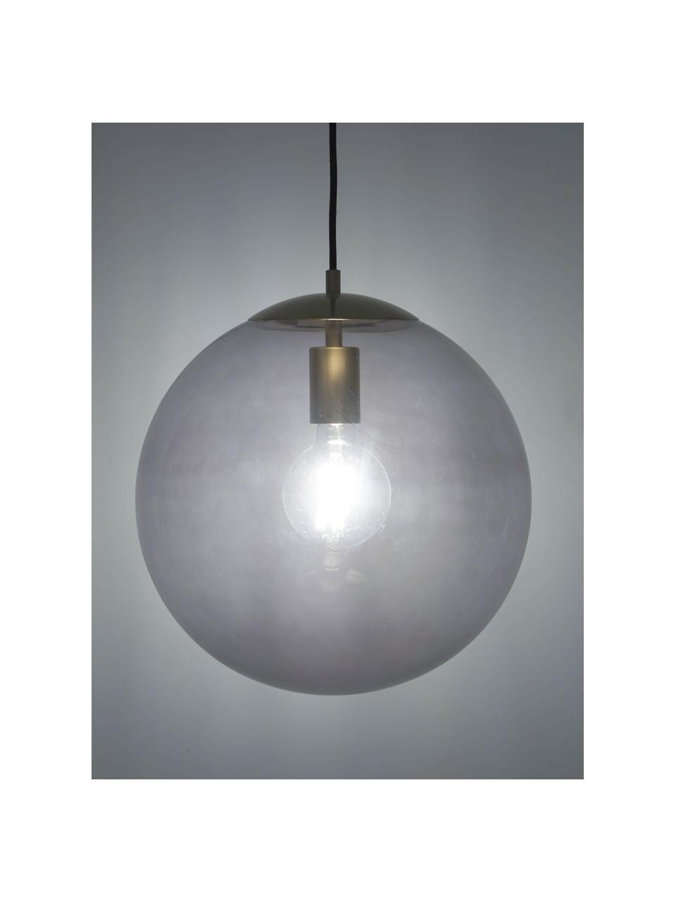 Lampa wisząca ze szkła Bao, Niebieski, Ø 35 cm