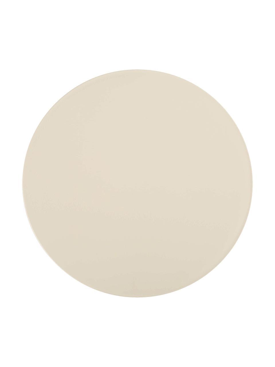 Tabouret/table d'appoint design Prince AHA, Crème