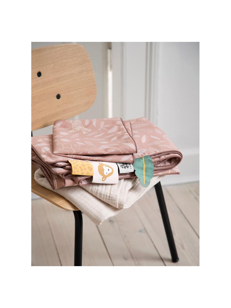 Kinder-Stuhl Oakee, Gestell: Metall, lackiert, Platte: Buchenholz mit Eichenholz, Eichenholz, 37 x 57 cm