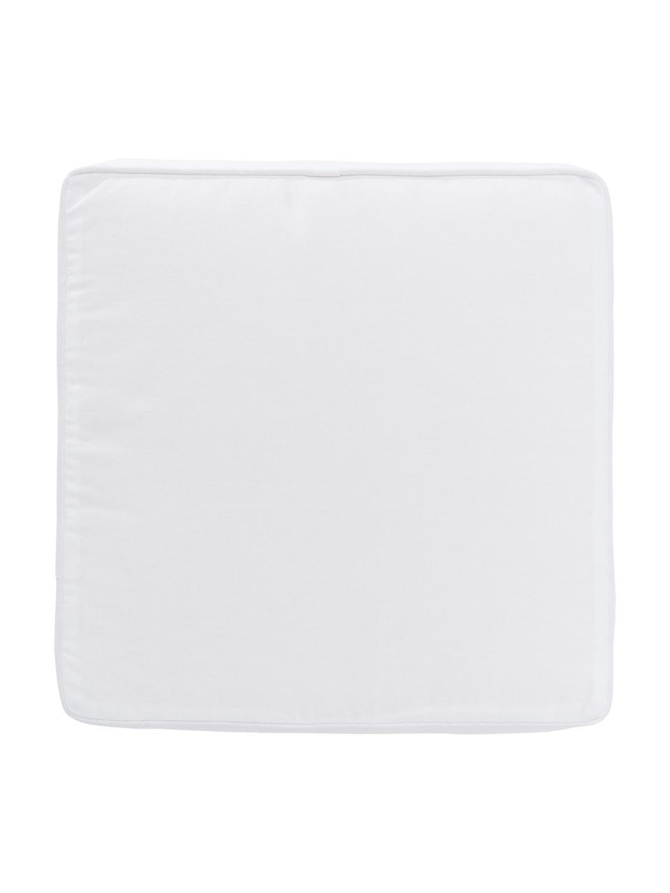 Wysoka poduszka na krzesło Zoey, Biały, S 40 x D 40 cm