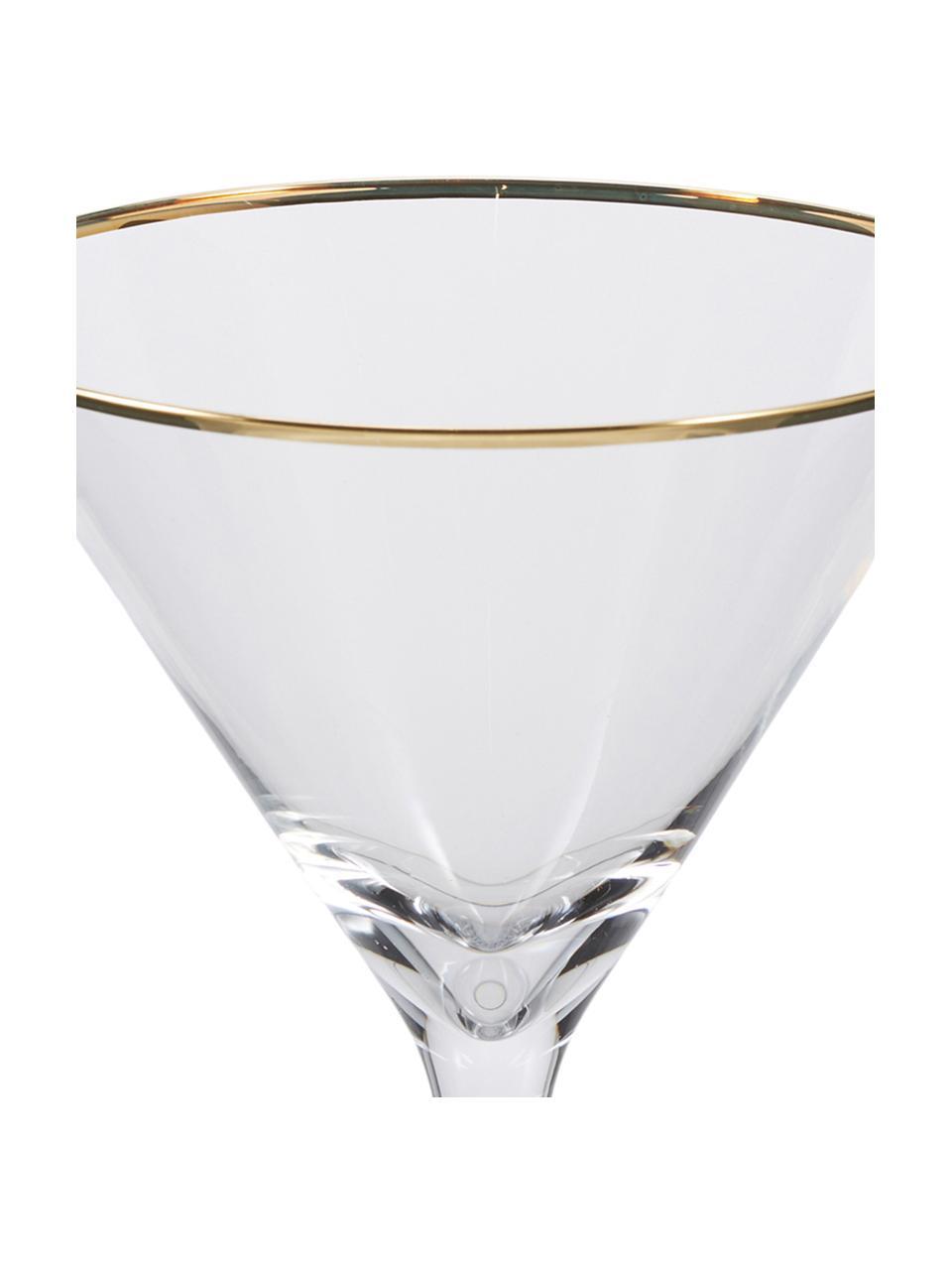 Kieliszek do martini Chloe, 4 szt., Szkło, Transparentny, Ø 12 x W 19 cm