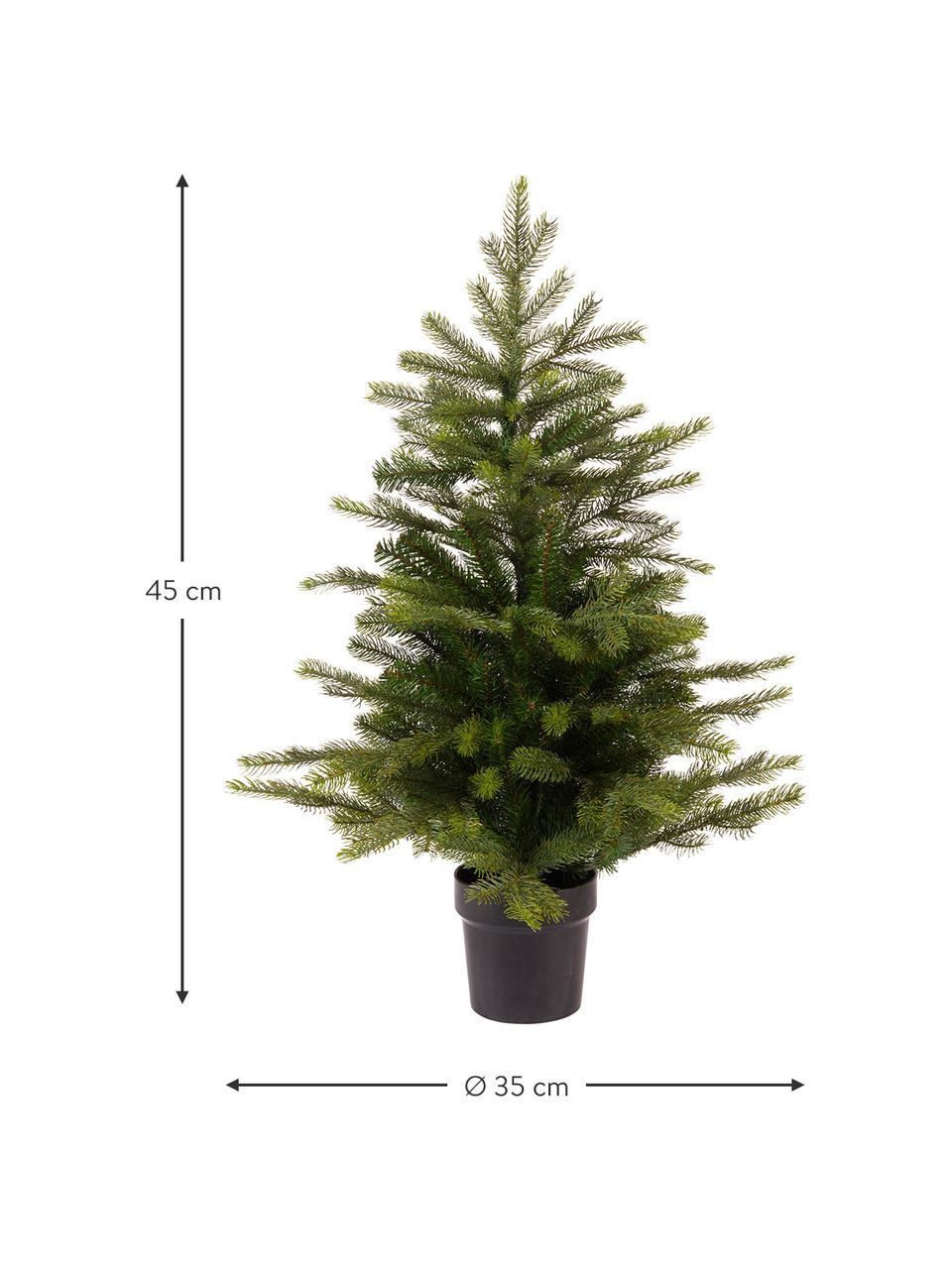 Albero di Natale artificiale Grandis, Verde, Ø 35 x Alt. 45 cm