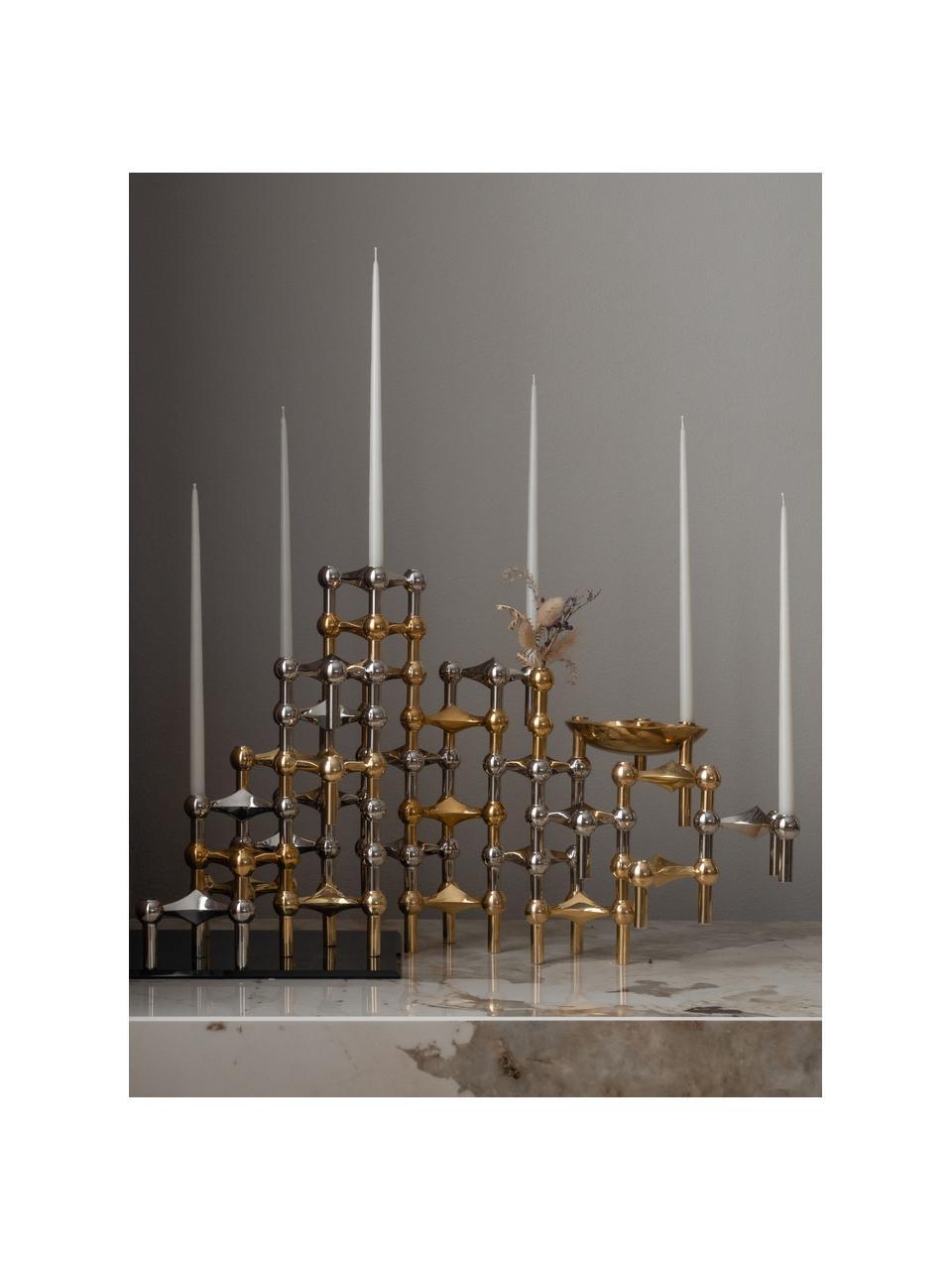 Stabkerzen By Ester & Erik, 6 Stück, Paraffinwachs, Weiß, Ø 1 x H 29 cm