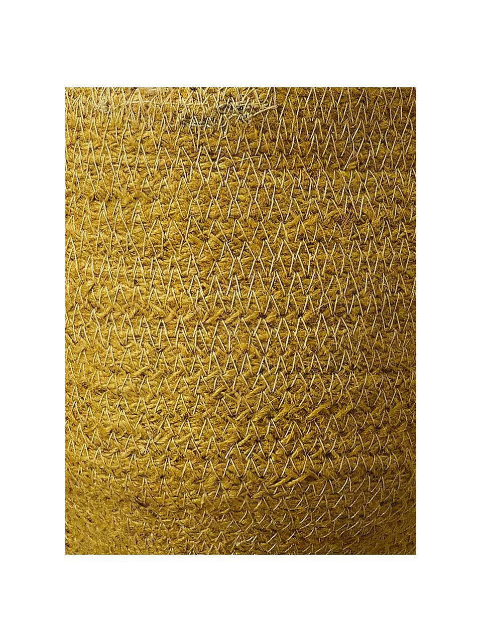 Mała doniczka wisząca Belle, Żółty, Ø 16 x W 75 cm