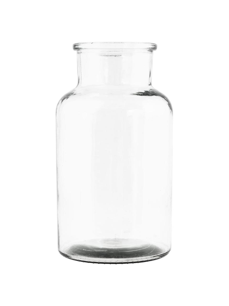 Glas-Vase Jaredya, Glas, Transparent, Ø 14 x H 26 cm