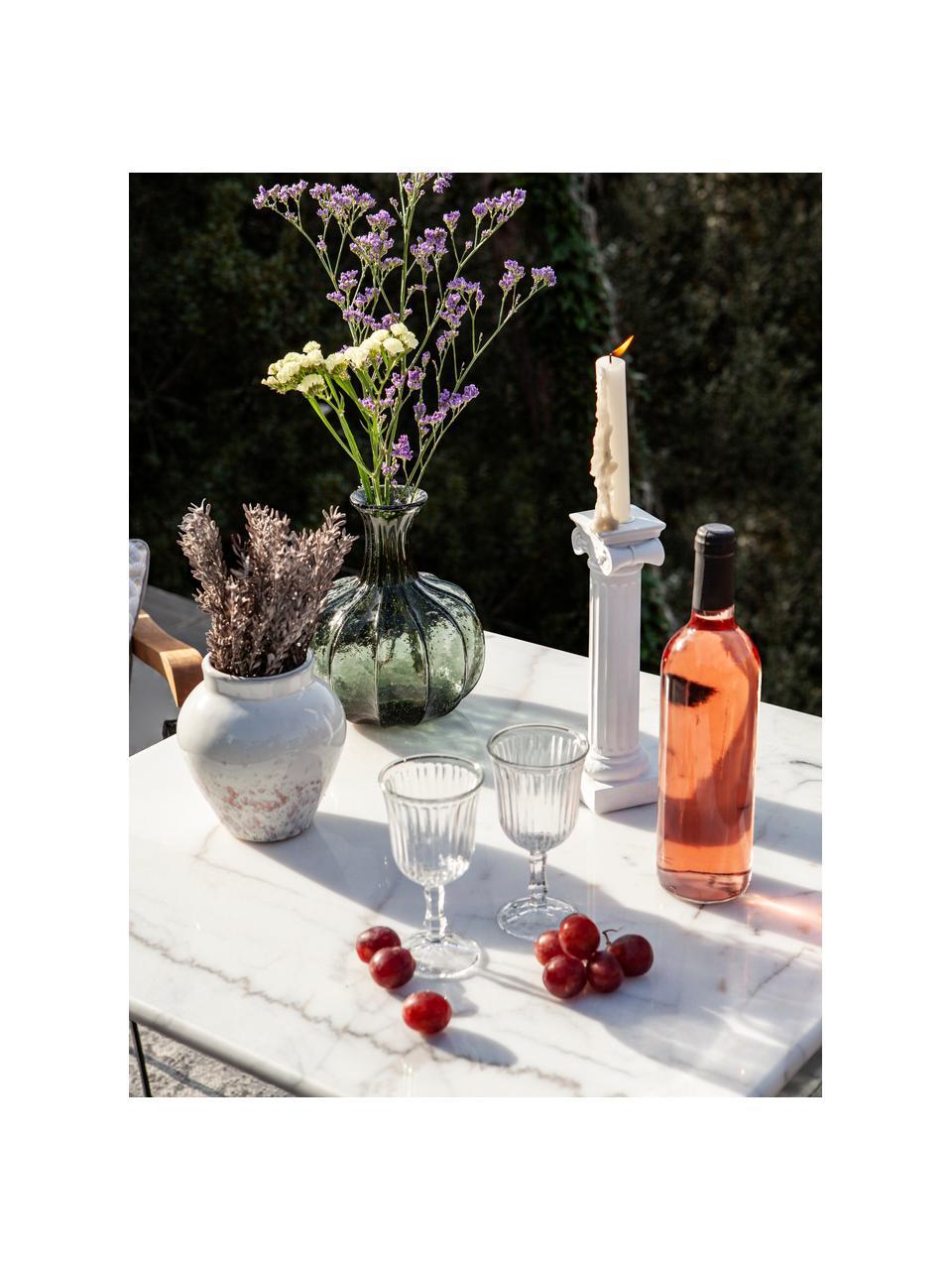 Bicchiere vino Belem 12 pz, Vetro, Trasparente, Ø  8 x Alt. 15 cm