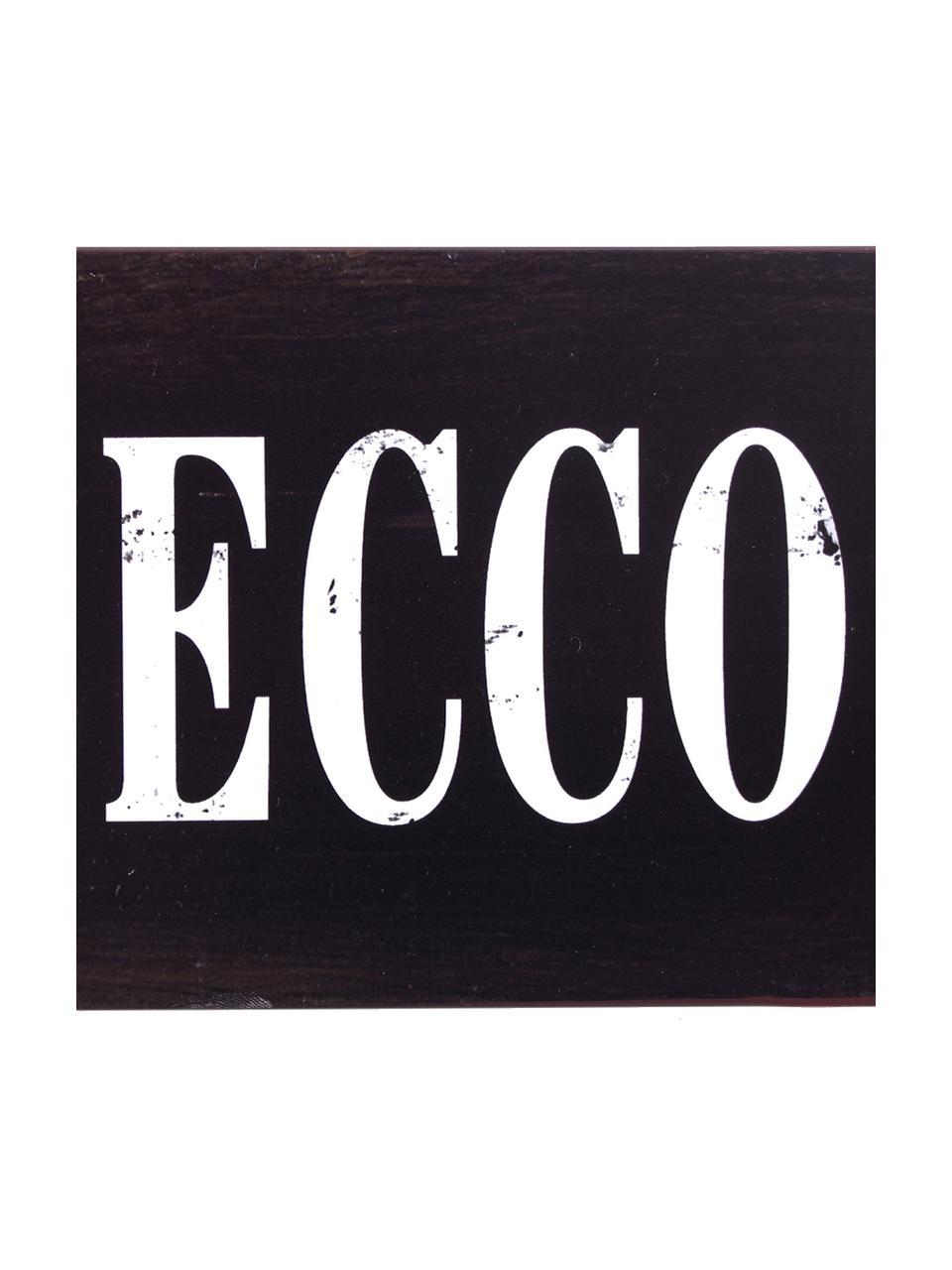 Dekorační tabule Prosecco, Černá, bílá