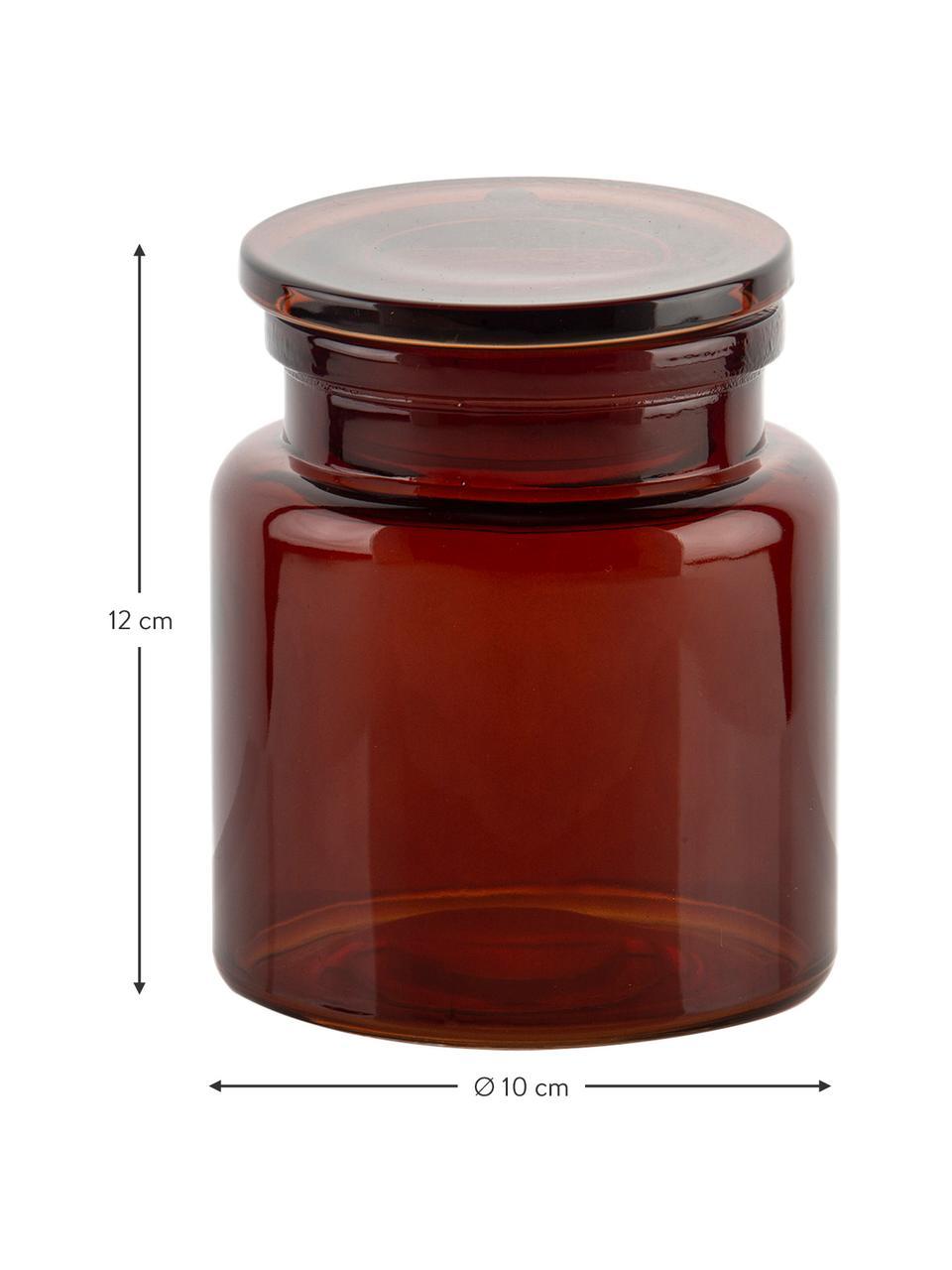 Pojemnik do przechowywania  Dorsey, Szklanka, Brązowy, Ø 10 x W 12 cm
