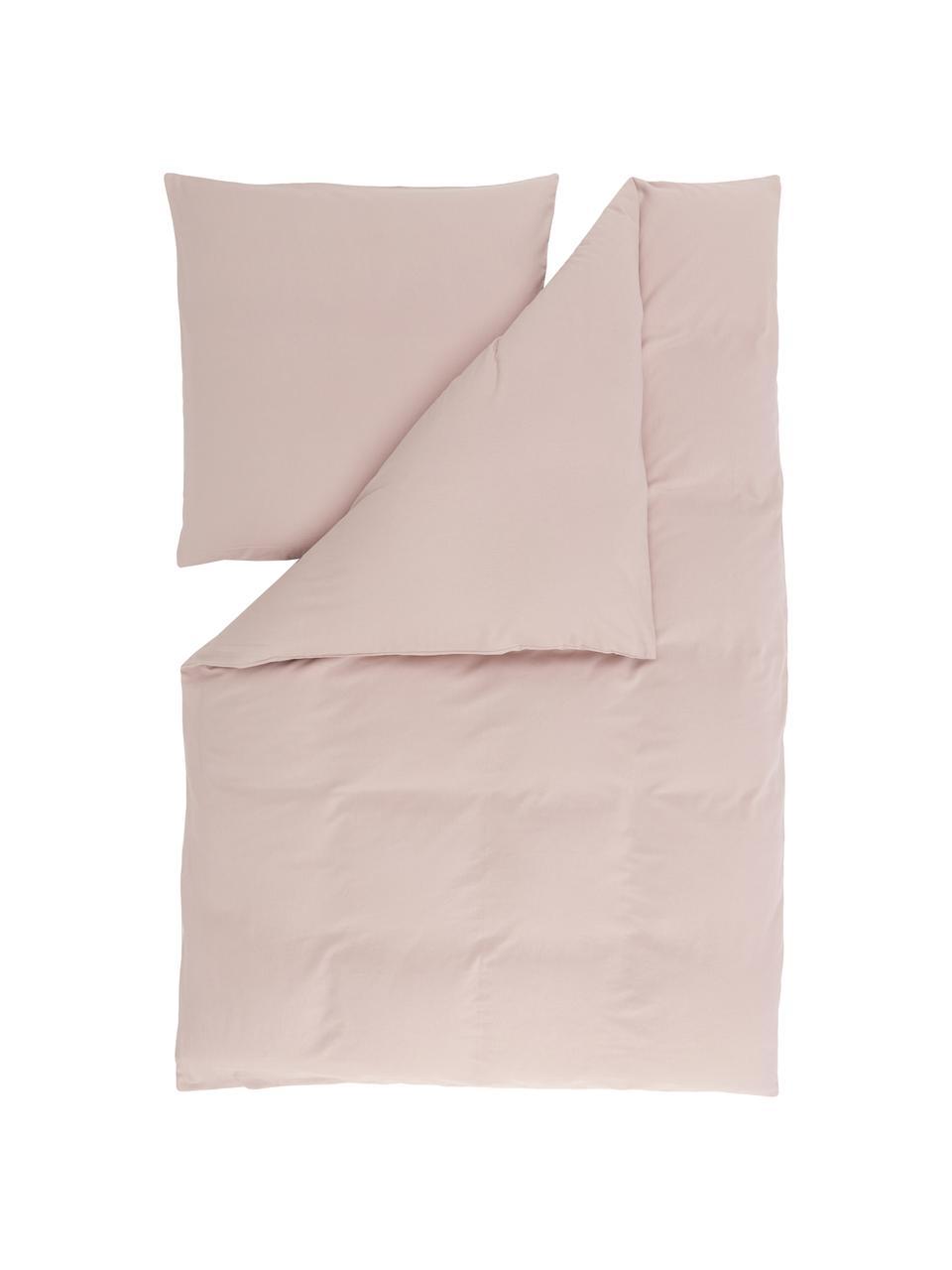 Flanell-Bettwäsche Biba in Rosa, Webart: Flanell Flanell ist ein k, Rosa, 135 x 200 cm + 1 Kissen 80 x 80 cm