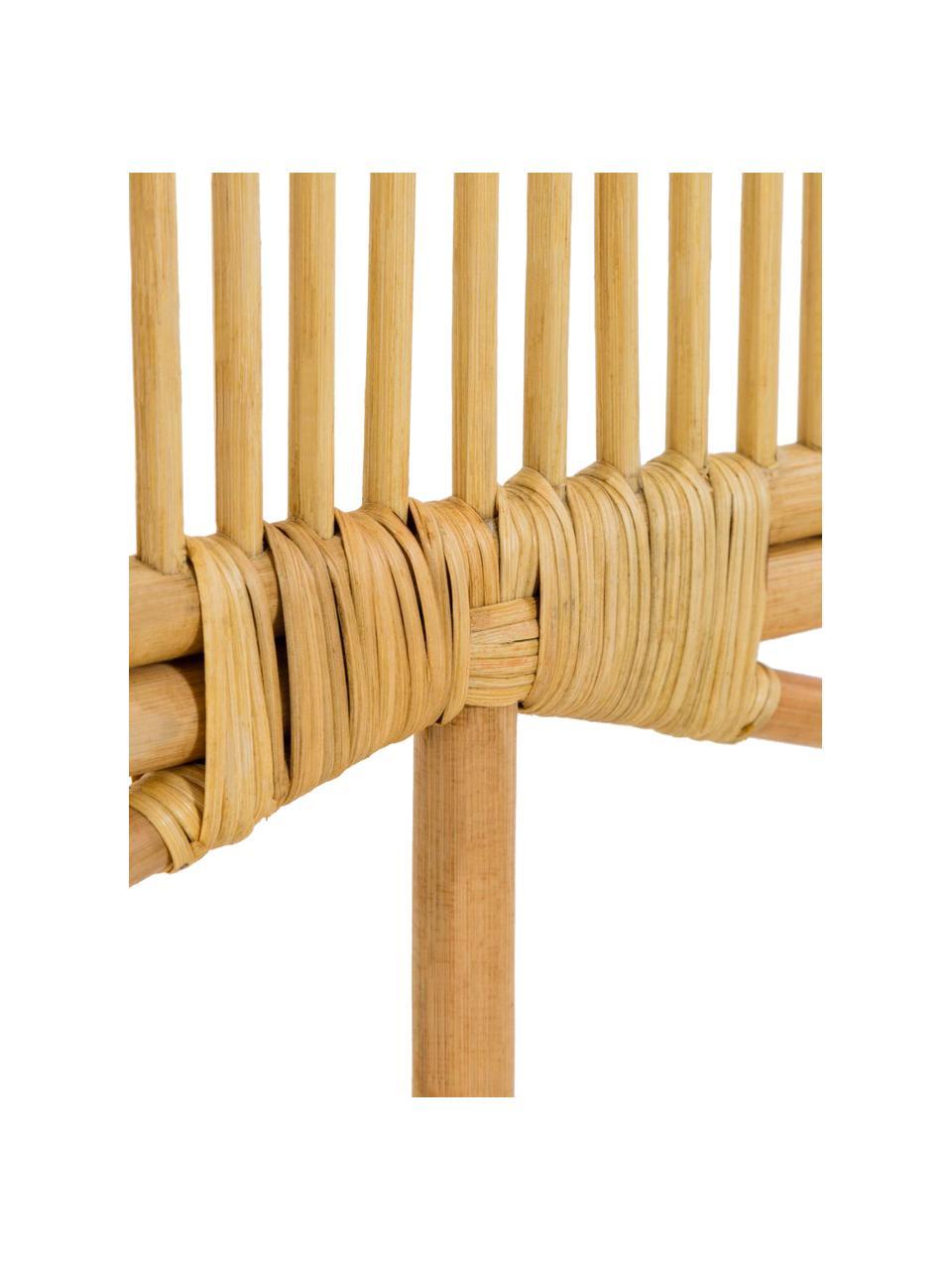Zagłówek z rattanu Lalita, Blat: wiklina rattanowa, Beżowy, S 170 x D 120 cm
