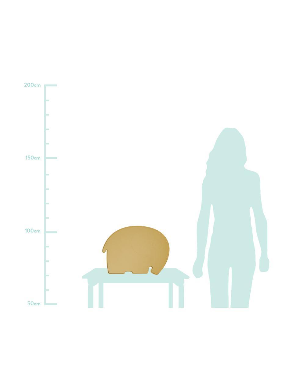 Silikon-Tischset Fanto, Silikon, BPA-frei, Gelb, 43 x 33 cm