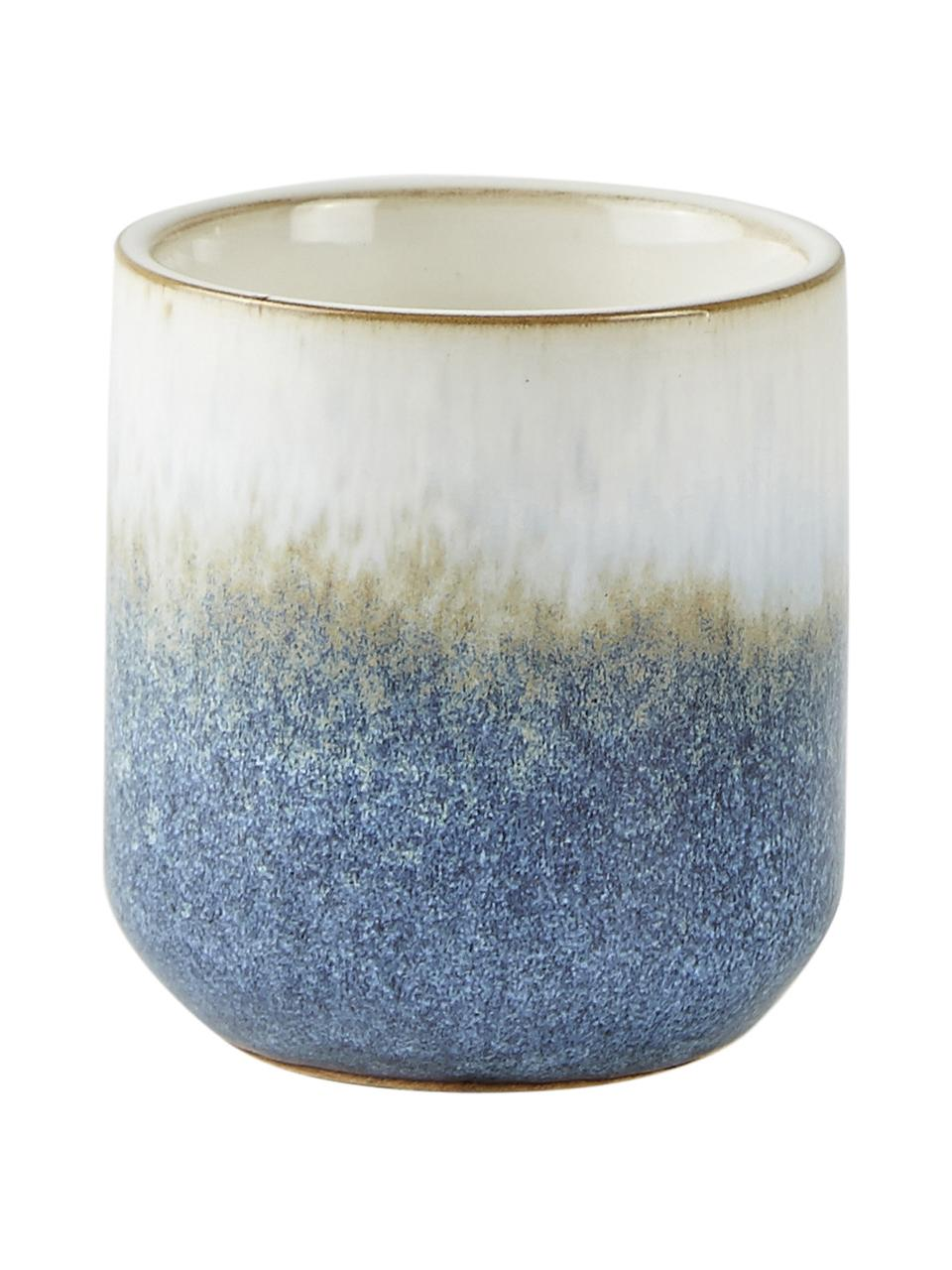Duftkerze Sea Salt (Kokosnuss & Meersalz), Behälter: Keramik, Kokosnuss & Meersalz, Ø 7 x H 8 cm