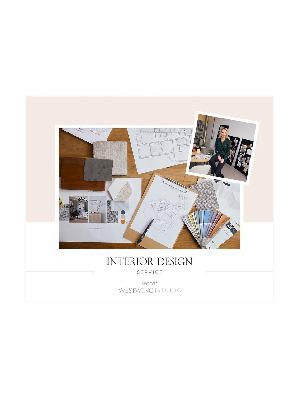 Interior Design Service voor 1 woonruimte, Digitale voucher. Na ontvangst van jouw bestelling nemen wij snel contact met je op om een afspraak te maken voor een telefonisch consult met jouw persoonlijke iterior designer., Wit, 99 Euro