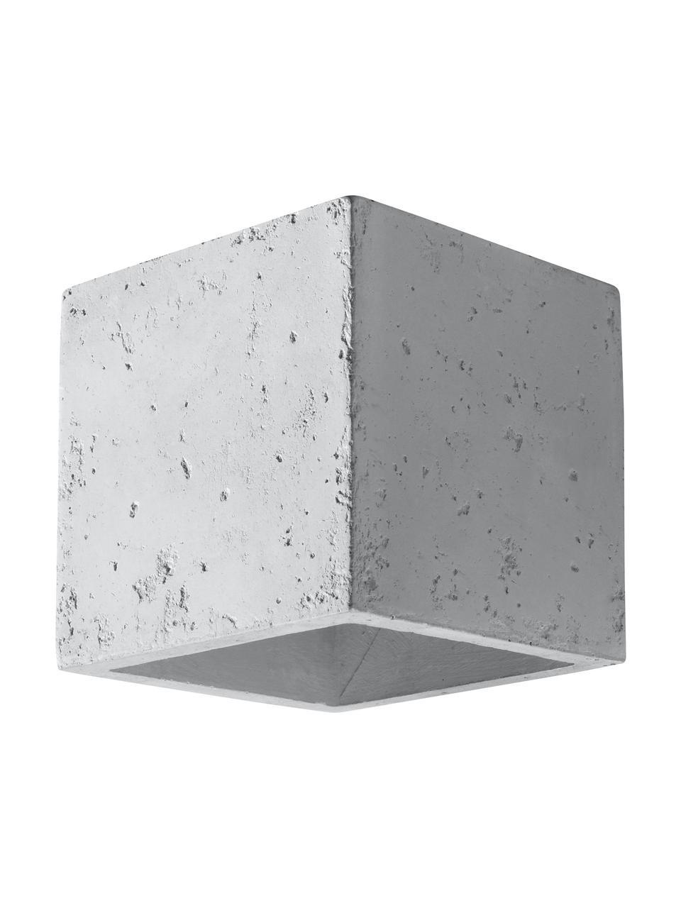 Applique en béton Quad, Blanc cassé