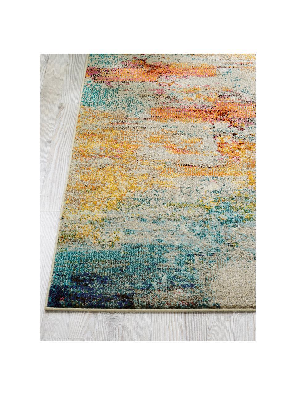 Design Läufer Celestial in Bunt, Flor: 100% Polypropylen, Mehrfarbig, 70 x 230 cm