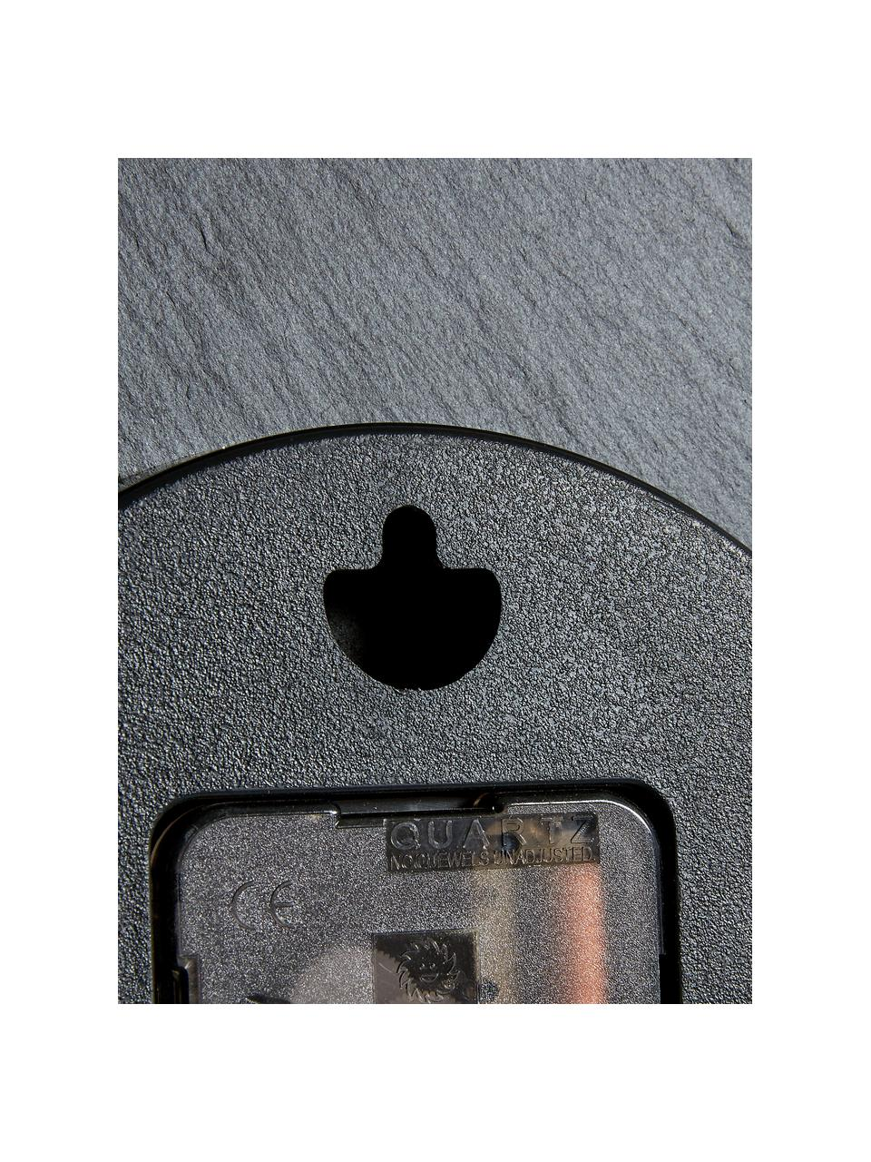 Wanduhr Wenig, Zeiger: Metall, beschichtet, Schwarz, Goldfarben, Ø 40 cm