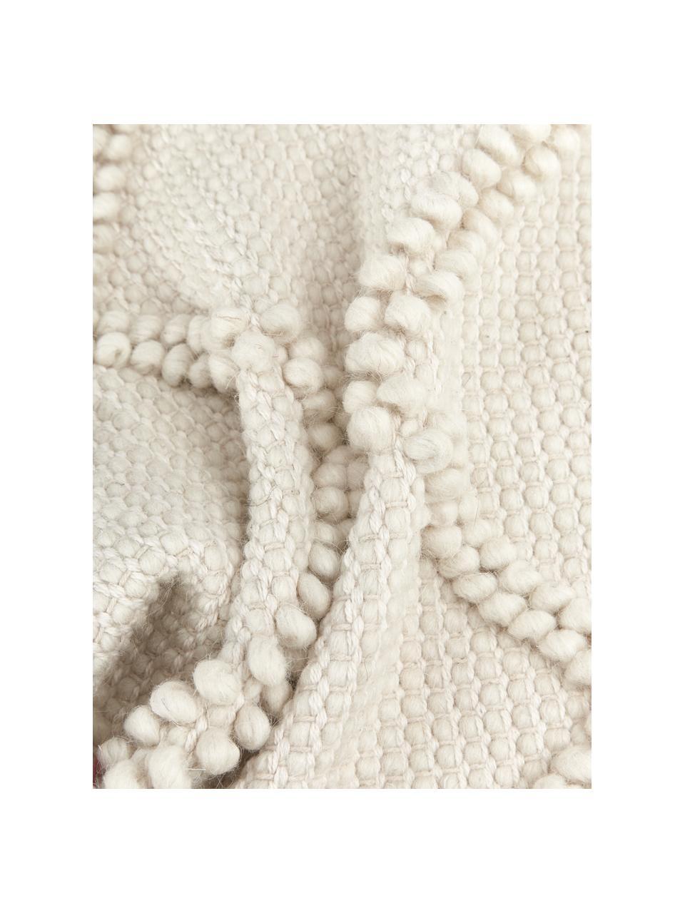 Poszewka na poduszkę Janina, 100% bawełna, Beżowy, S 45 x D 45 cm