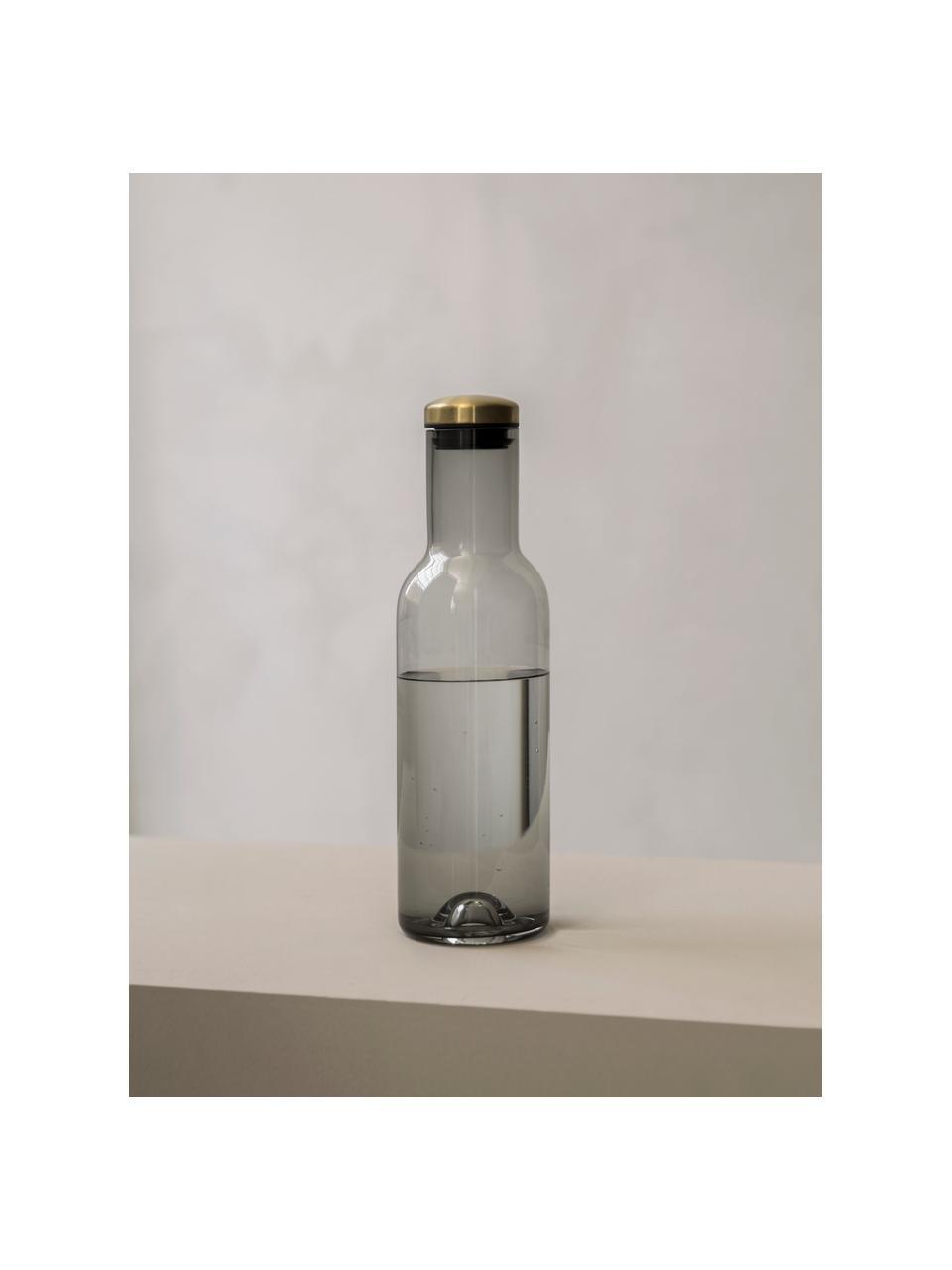 Carafe en verre Deluxe, 1 L, Fumé