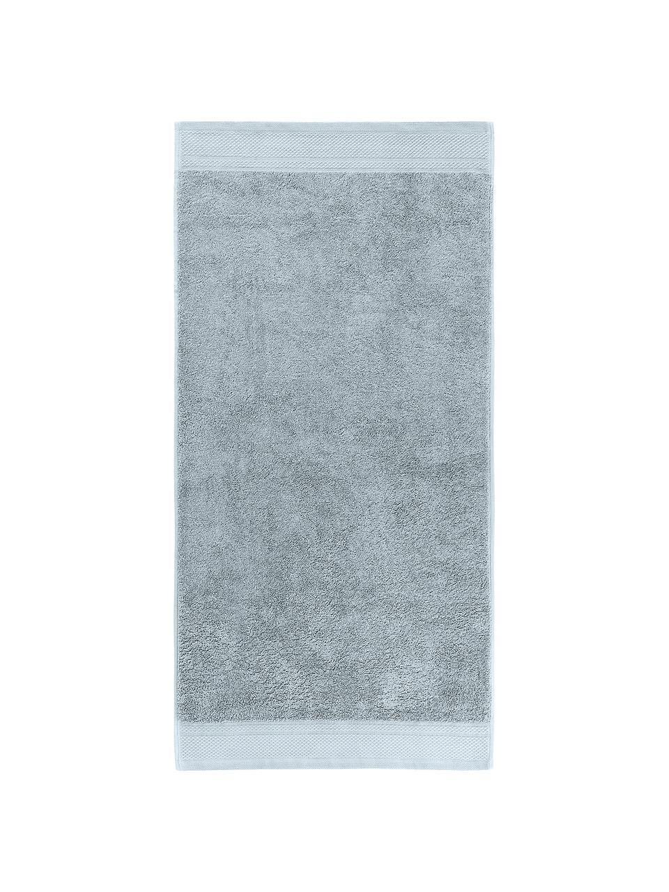 Handtuch-Set Premium mit klassischer Zierbordüre, 3-tlg., Hellblau, Set mit verschiedenen Größen