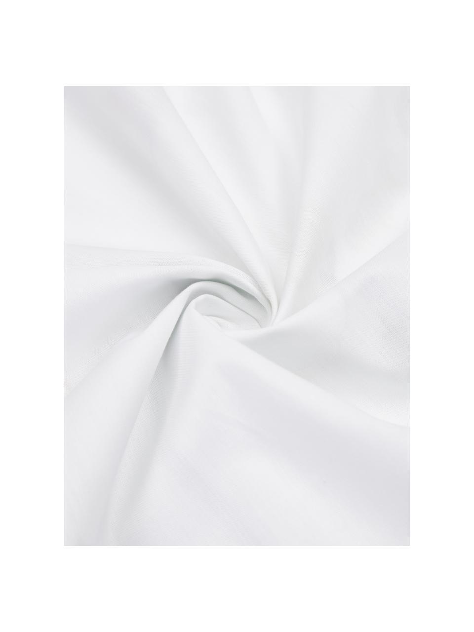 Pościel z perkalu Meadow, Wielobarwny, biały, 240 x 220 cm