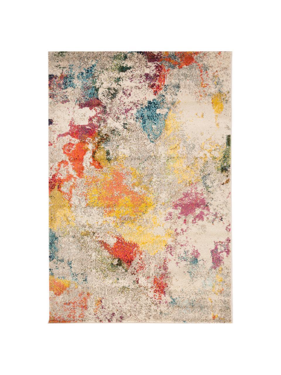 Tappeto colorato di design Celestial, Retro: juta, Multicolore, Larg.160 x Lung. 220 cm  (taglia M)