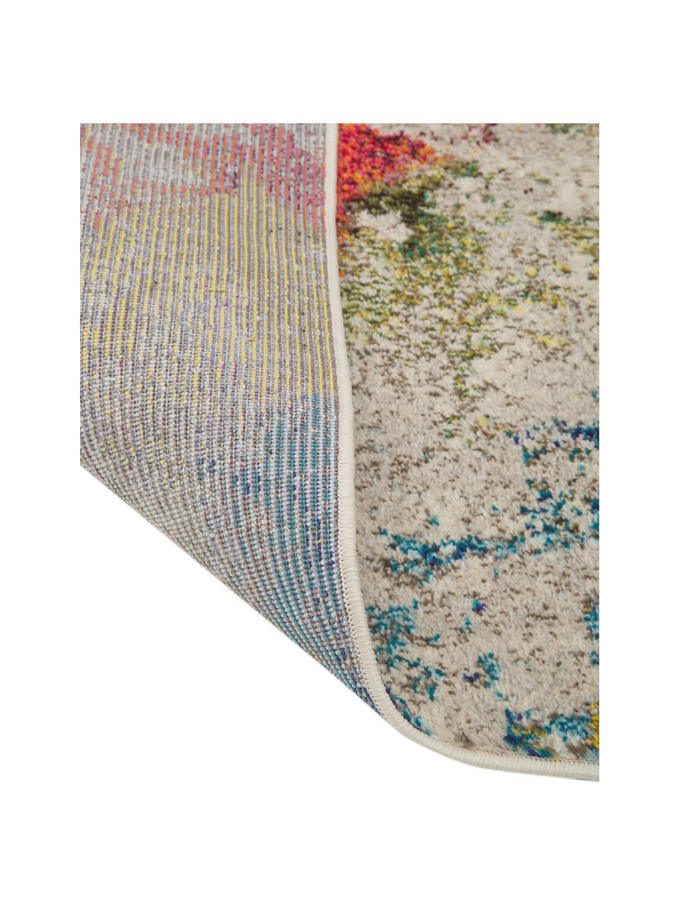 Tappeto di design colorato Celestial, Retro: juta, Multicolore, Larg.160 x Lung. 220 cm  (taglia M)