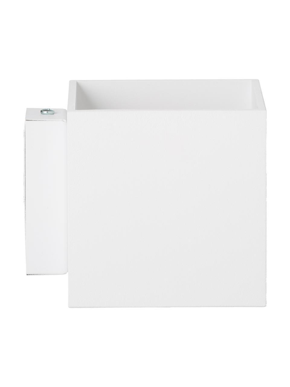 Kinkiet Quad, Biały, S 10 x W 10 cm