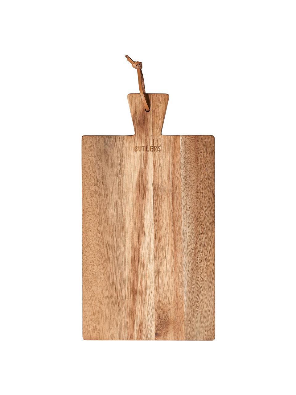 Tagliere in legno di acacia Cutting Crew, Legno di acacia, Larg. 43 x Prof. 24 cm