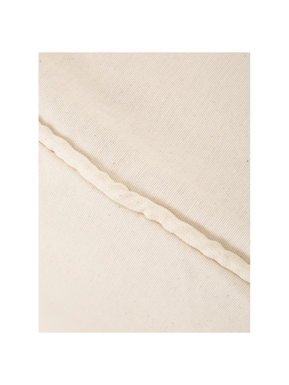Copridivano Levante, 65% cotone, 35% poliestere, Beige, Larg. 200 x Alt. 110 cm