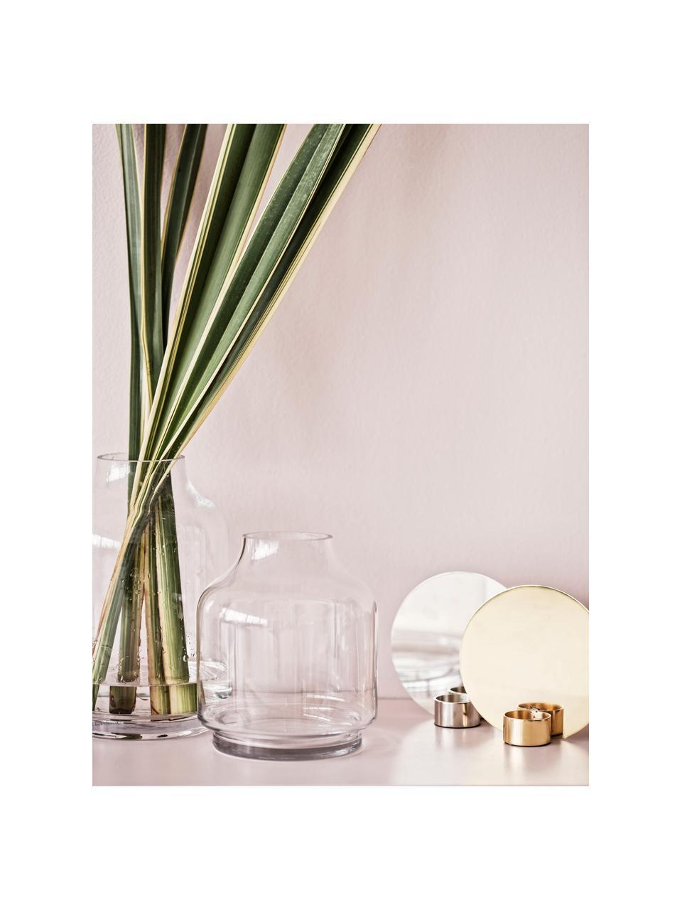 Glas-Vase Vibeke, Glas, Transparent, Ø 17 x H 26 cm